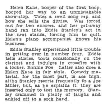 The Billboard 1932 Helen Kane and Bonnie Poe Touring Together.jpg
