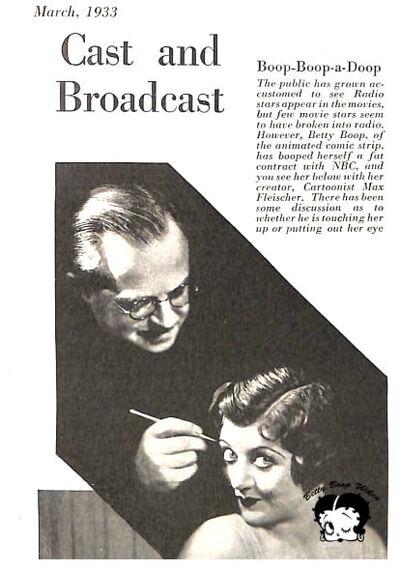 Betty Boop Wikia March 1933 Max Fleischer and Mae Questel.jpg