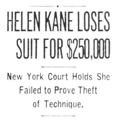 Helen Kane Loses Betty Boop Lawsuit 1934.jpg