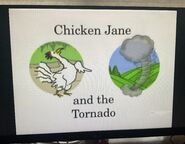 Chicken Jane and the Tornado Title Card