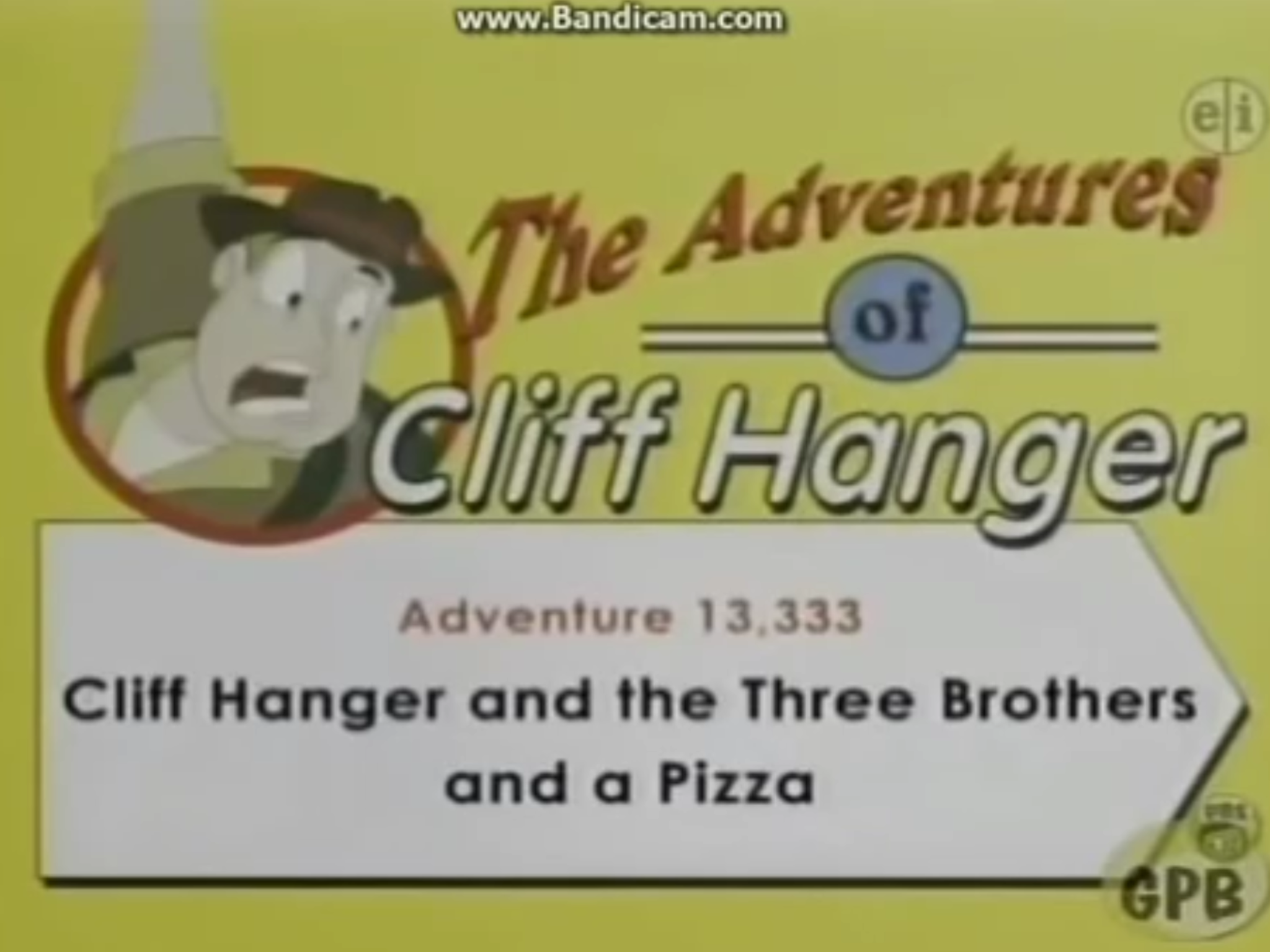 Cliff Hanger and the Three Brothers and a Pizza