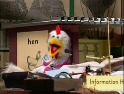 Information Hen talks about coming to the library.jpg