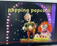 The Great Smartini Popping Popcorn