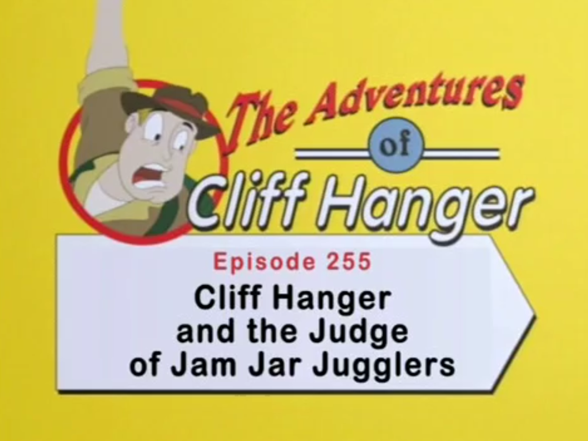 Cliff Hanger and the Judge of Jam Jar Jugglers