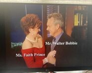 Ms. Faith Prince and Mr. Walter Bobbie