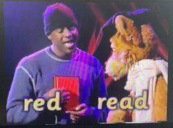 Brian McKnight and Cleo Lion Homophones 2.jpg