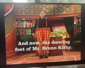 And now, the dancing feet of Mr. Bruno Kirby.jpg