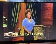 Ms. Denyce Graves 9