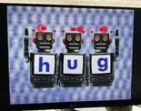 Robot Word Morph hum, hug, rug 2
