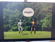 Gawain's Word Juggle