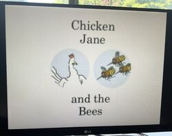 Chicken Jane and the Bees Title Card.jpg