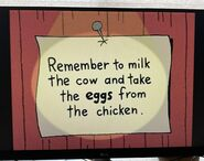 The Lone Rearranger Rewrites Again Remember to Milk the Cow and Take the Eggs from the Chicken 2