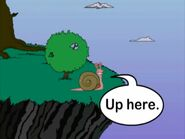 Cliff Hanger and the Giant Snail