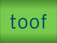 Tiger Words Tooth Toof Word