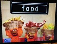 Monkey Cheerleaders Food