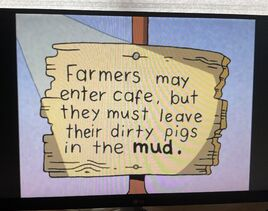 The Lone Rearranger Rewrites Again Farmers May Enter Cafe, But They Must Leave Their Dirty Pigs In The Mud 2.jpg