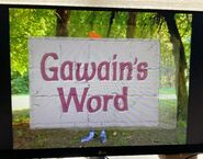 Gawain's Word New Title