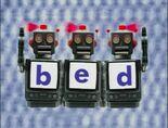 Robot Word Morph bed, bet, pet, pen, hen