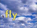 Sky Word Morph fly, flying