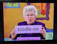 Dr. Ruth Wordheimer Toodle-oo