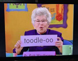 Dr. Ruth Wordheimer Toodle-oo.jpg