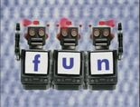 Robot Word Morph fun, bun, bug