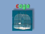 Block Word Morph cage, cave, cake, cook