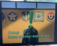 Camp Easy-Peasy-Eat-a-Lot