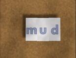 Rectangular Bug Word Morph mud, mug, bug