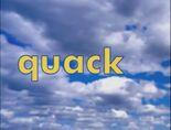 Sky Word Morph quack, pack, sack, smack