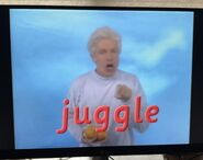 Fred Says Juggle