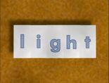 Rectangular Bug Word Morph light, lip, lap