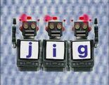 Robot Word Morph jig, wig, big