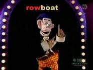 Arty Smartypants rowboat, boat