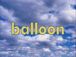 Sky Word Morph balloon, loon, loop, zoop