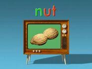 Television Word Morph nut, nap, napkin