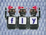 Robot Word Morph fly, sly, shy, why