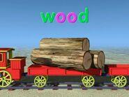 Train Word Morph (wood-hood-hook-book)