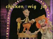 The Great Smartini Chicken in a Wig Doing a Jig 2