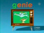 Television Word Morph genie, giant, giraffe