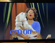 Madison the Opera Dog with Ms. Denyce Graves Croon