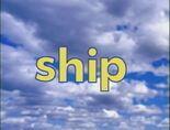 Sky Word Morph ship, lip, rip, trip