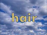 Sky Word Morph hair, fair, fail, rail, rain