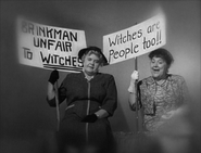 Bertha Mary Protest Signs 1×07