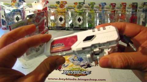 Déballage de la toupie Beyblade Burst B-02 DX Starter Spriggan Spread Fusion unboxing