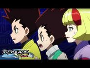 BEYBLADE BURST RISE Episode 18 Part 2 - Put to the Test! Unburstable Bey!