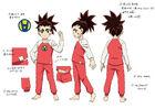 Beyblade Burst Chouzetsu Aiga Akaba Concept Art 10