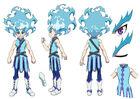 Beyblade Burst Chouzetsu Lui Shirasagijo Concept Art 4