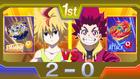 Burst Surge E5 - Hyuga vs. Free Final Score
