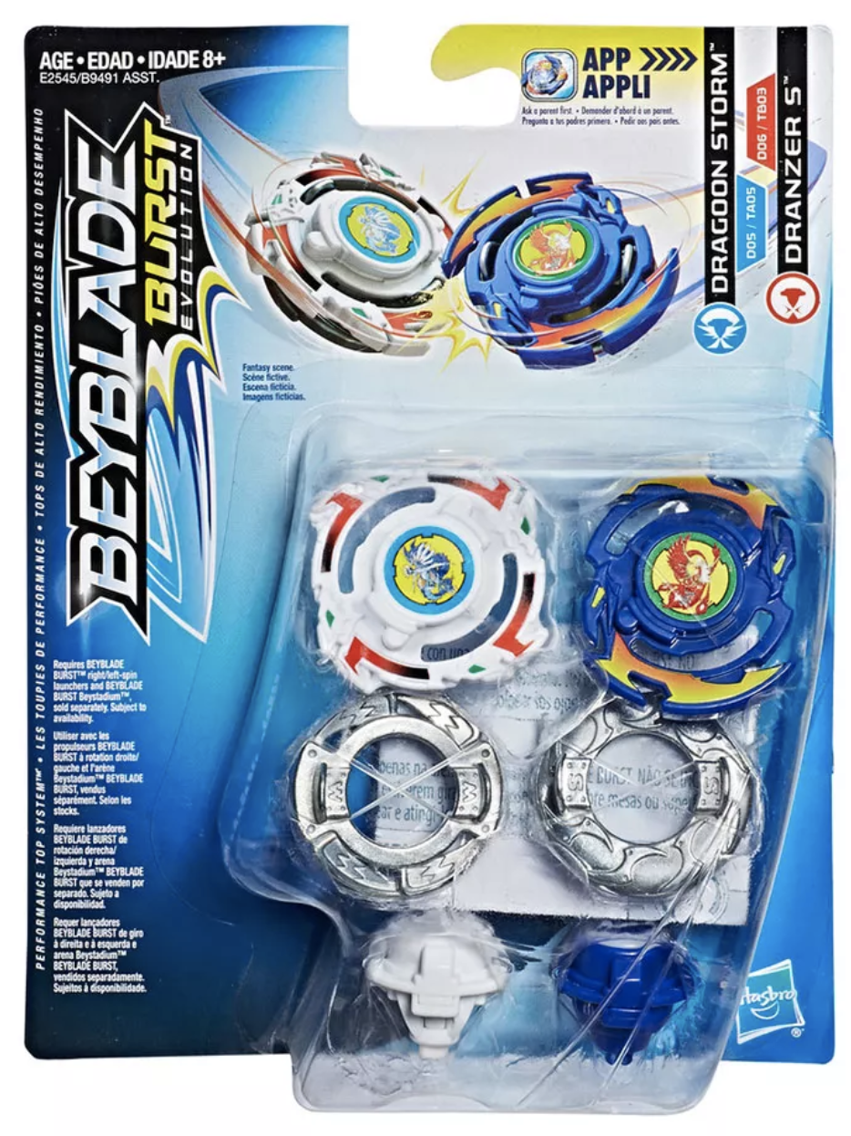 Dragoon Storm & Dranzer S Dual Pack